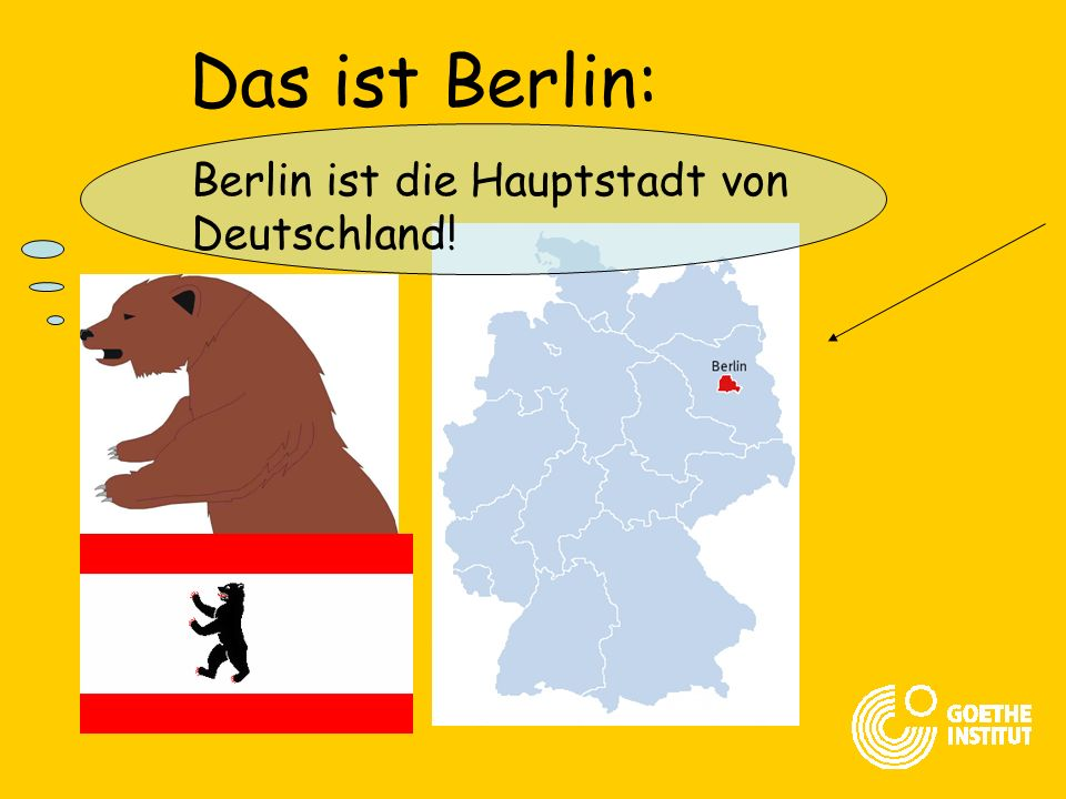 Das ist Berlin: Berlin ist die Hauptstadt von Deutschland!