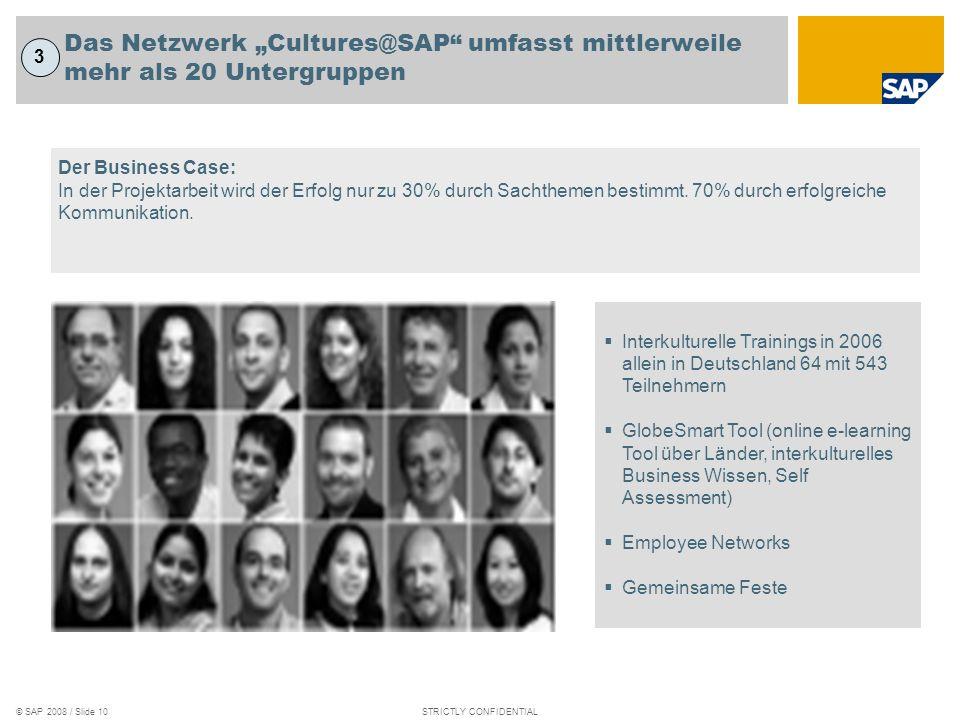"""Das Netzwerk """"Cultures@SAP umfasst mittlerweile mehr als 20 Untergruppen"""
