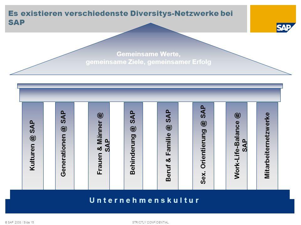 Es existieren verschiedenste Diversitys-Netzwerke bei SAP