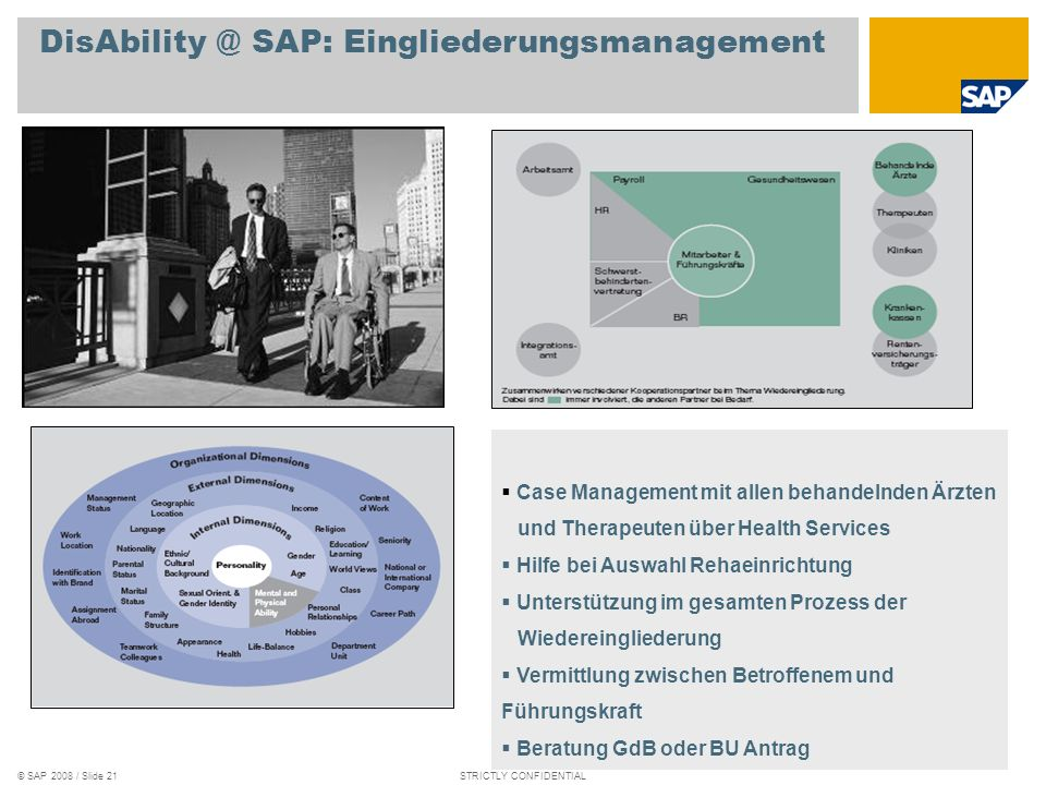 DisAbility @ SAP: Eingliederungsmanagement