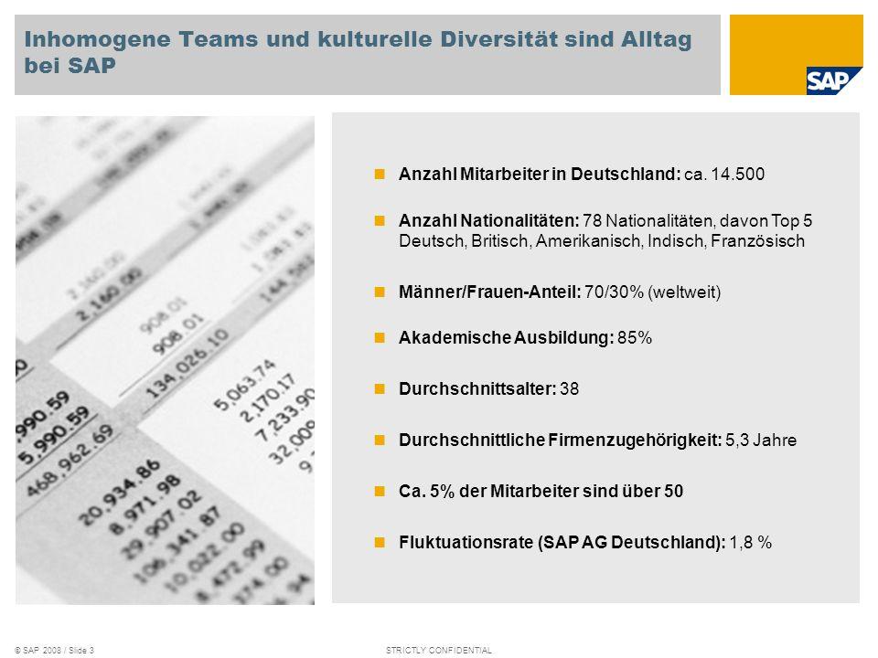 Inhomogene Teams und kulturelle Diversität sind Alltag bei SAP