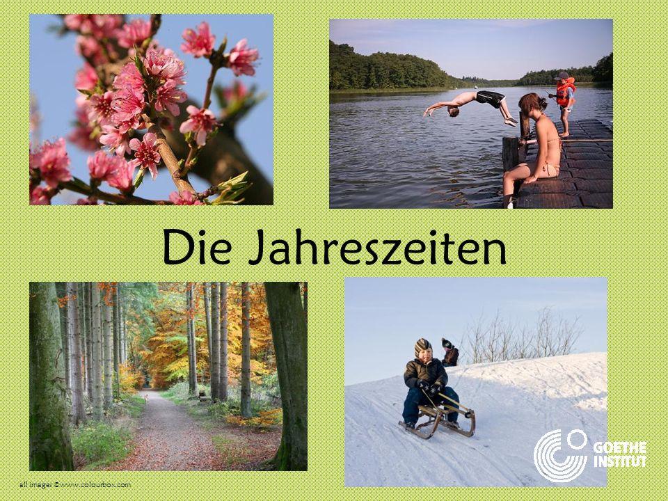 Die Jahreszeiten all images ©www.colourbox.com