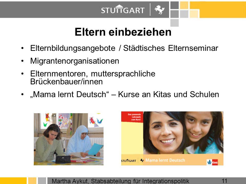 Eltern einbeziehen Elternbildungsangebote / Städtisches Elternseminar
