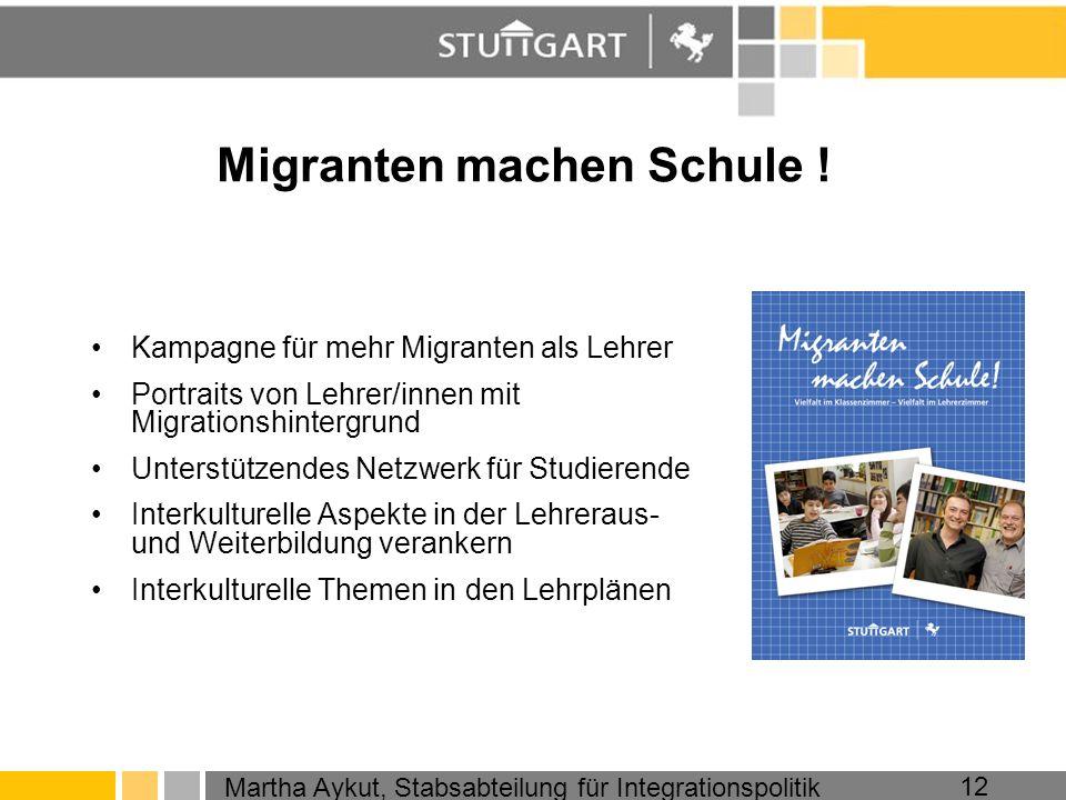 Migranten machen Schule !