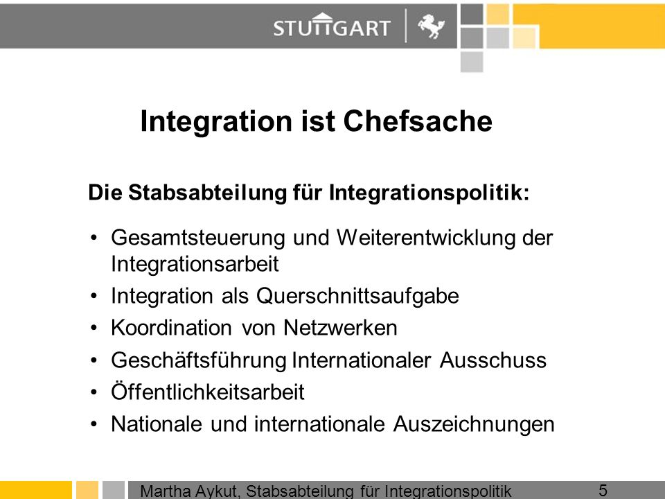 Integration ist Chefsache