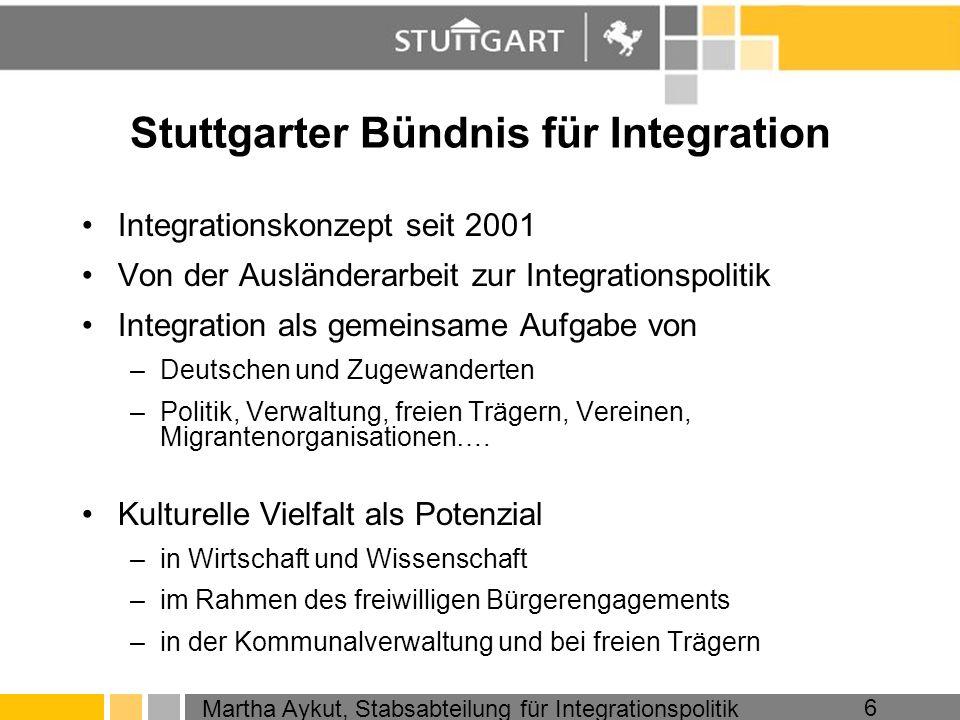 Stuttgarter Bündnis für Integration