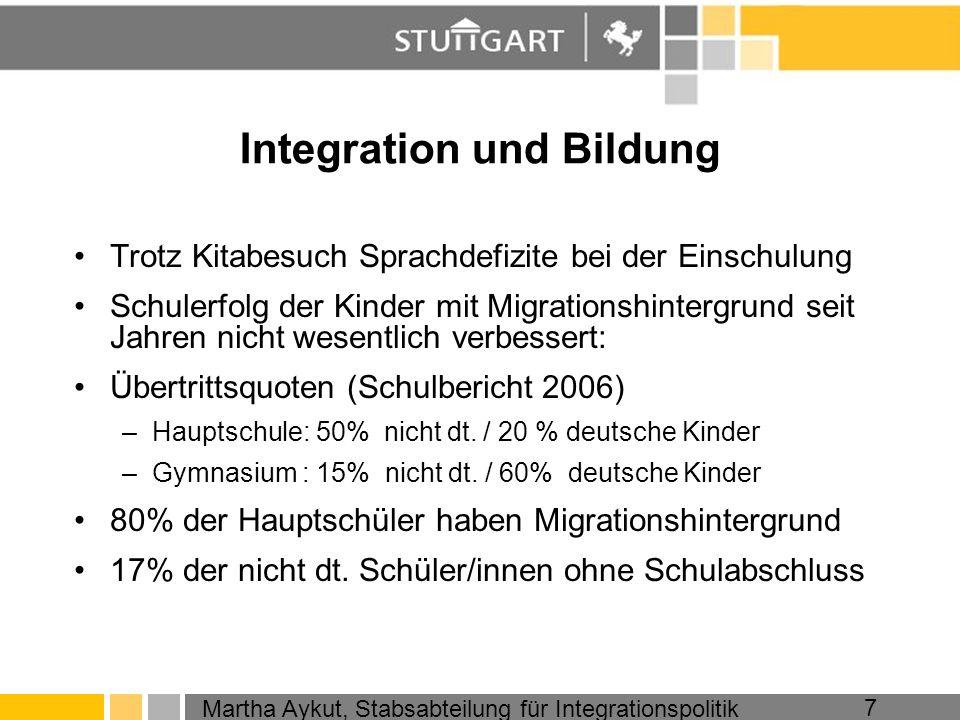 Integration und Bildung