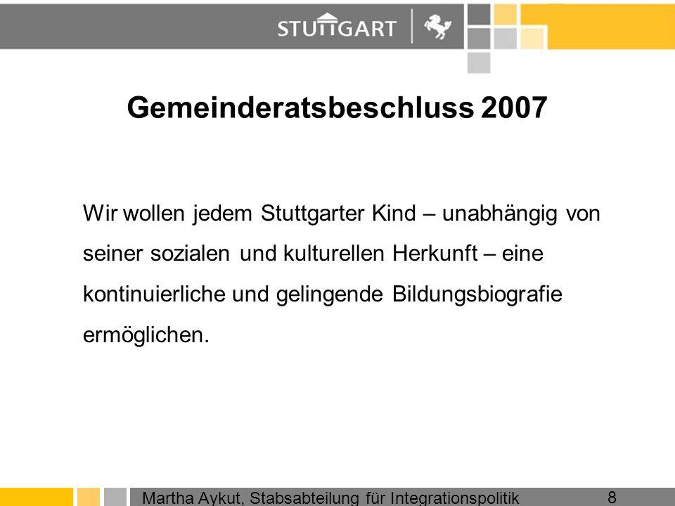 Gemeinderatsbeschluss 2007
