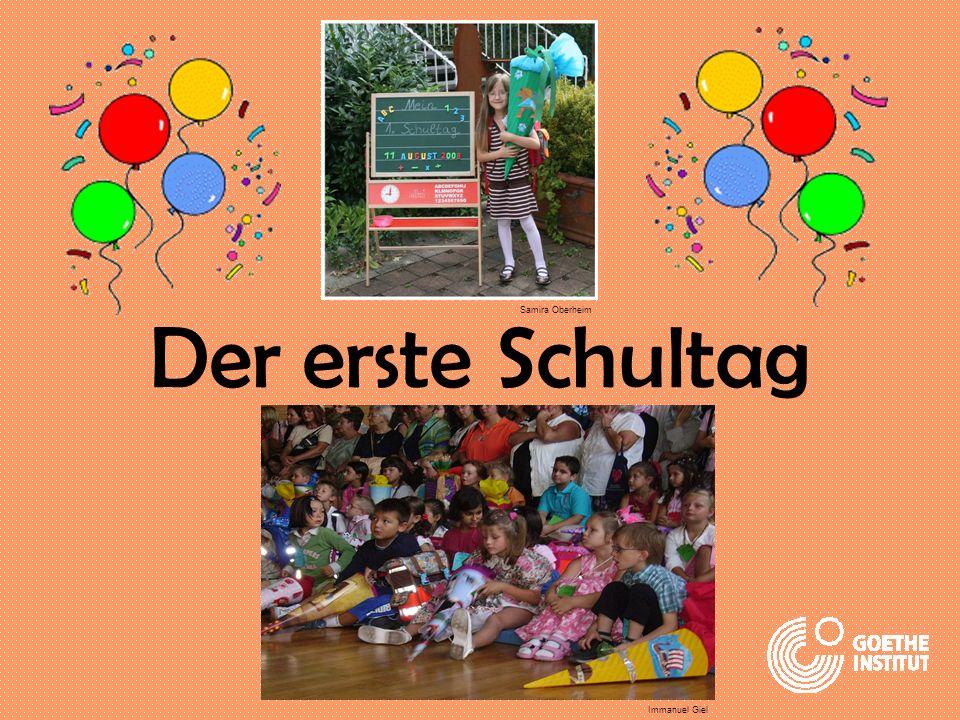 Der erste Schultag Samira Oberheim Immanuel Giel