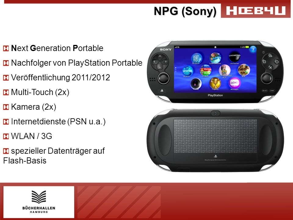 NPG (Sony) Next Generation Portable