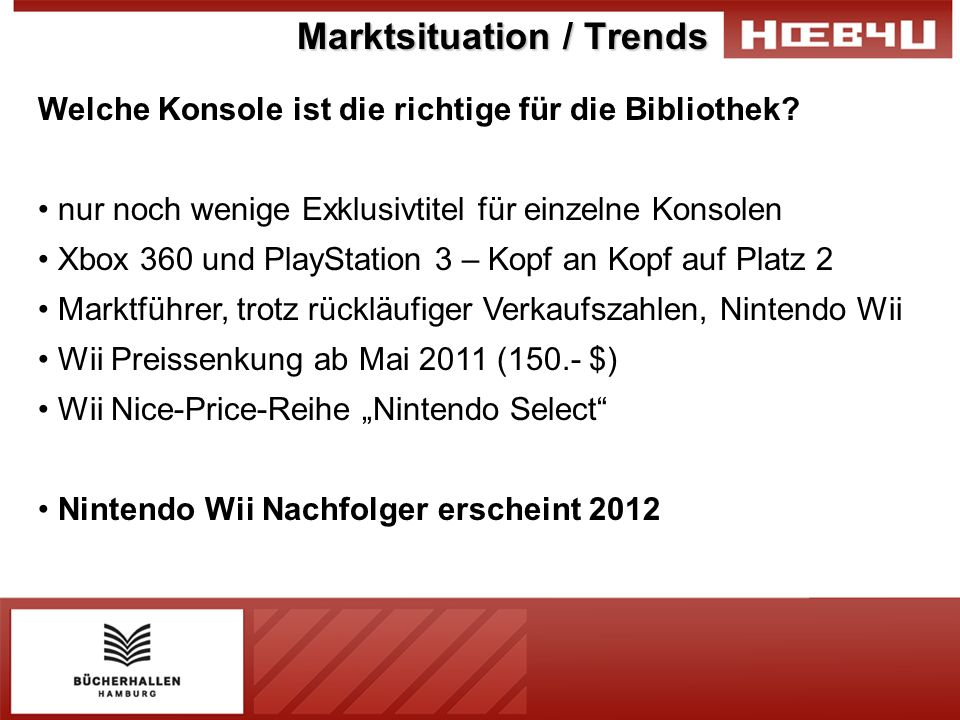 Marktsituation / Trends