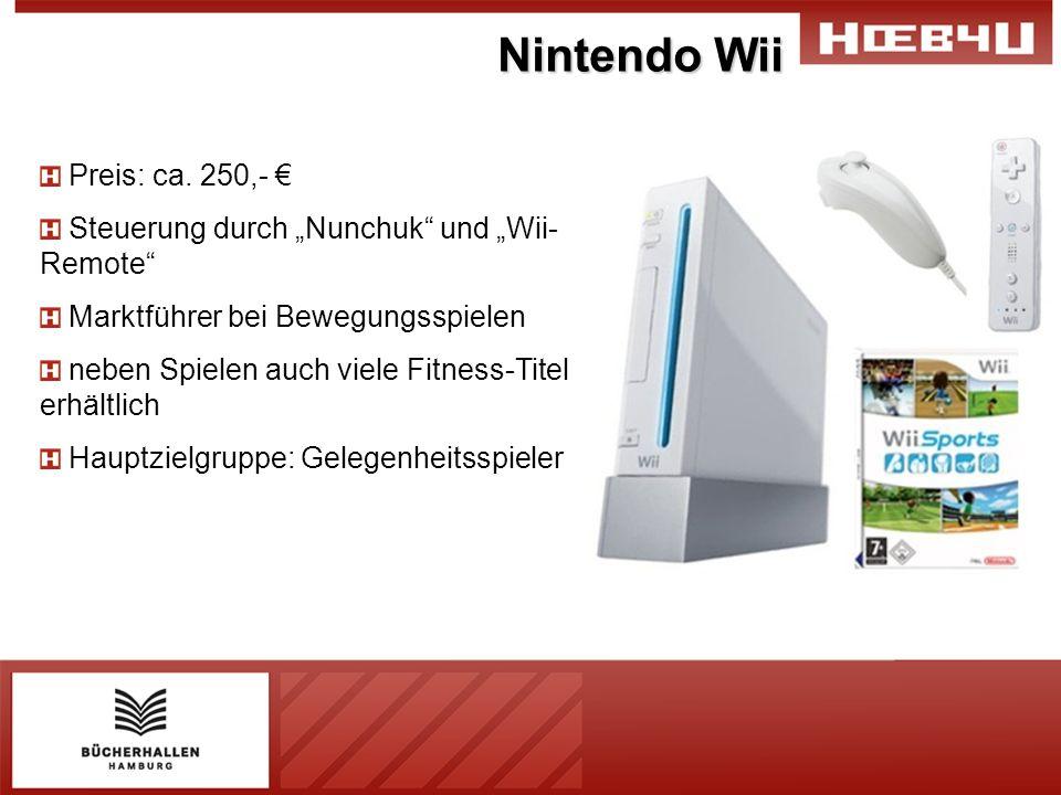 Nintendo Wii Preis: ca. 250,- €