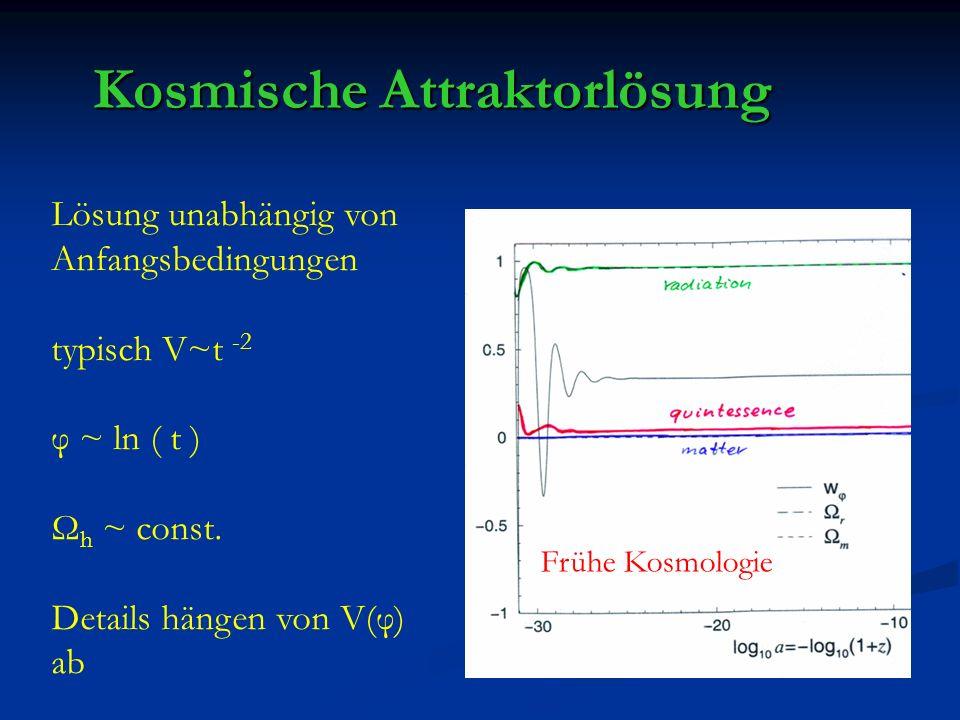 Kosmische Attraktorlösung