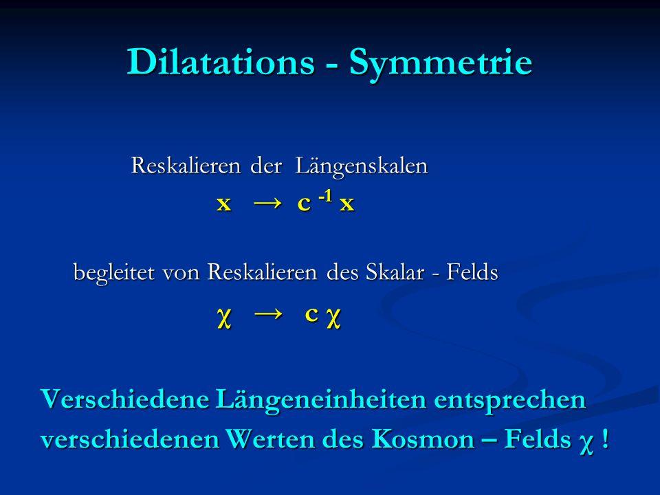 Dilatations - Symmetrie