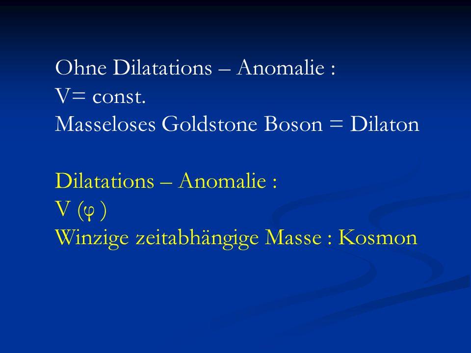 Ohne Dilatations – Anomalie :