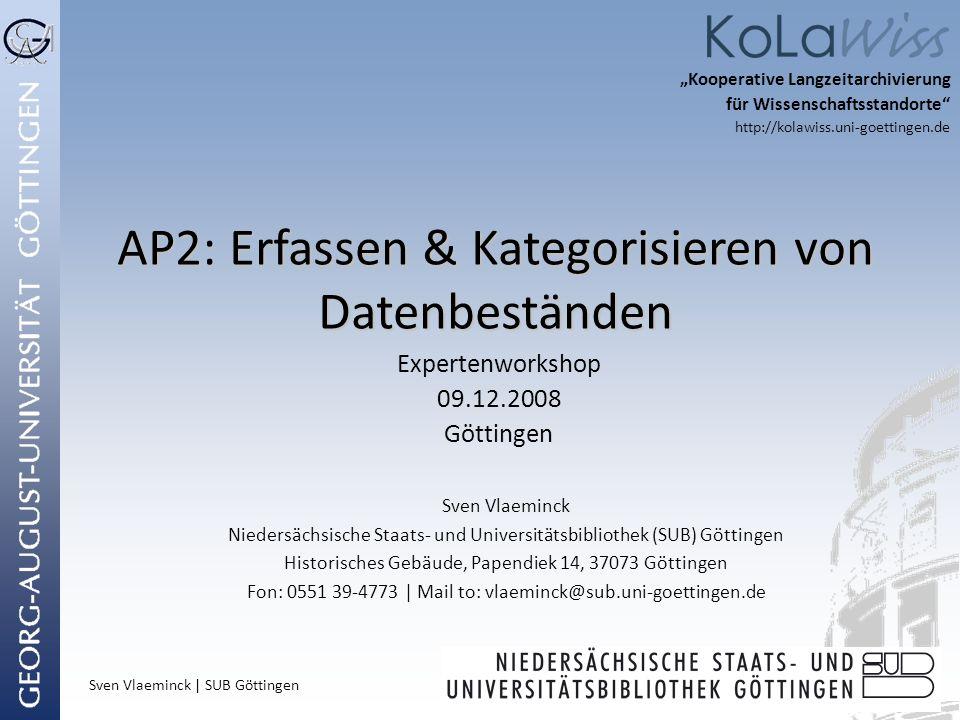 AP2: Erfassen & Kategorisieren von Datenbeständen