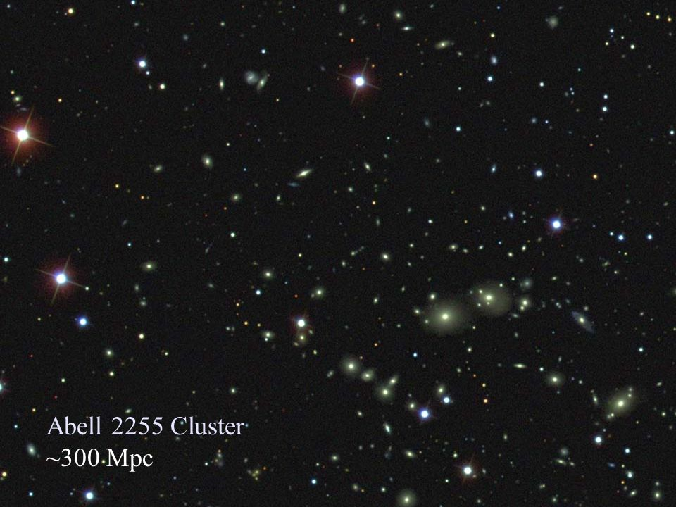 Abell 2255 Cluster ~300 Mpc