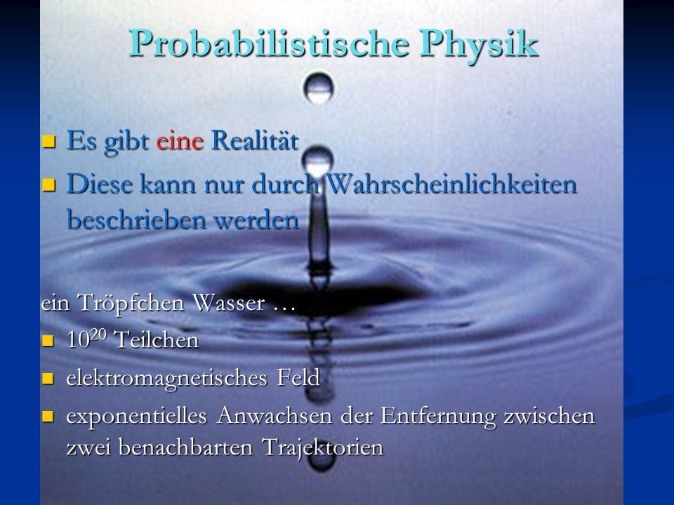 Probabilistische Physik