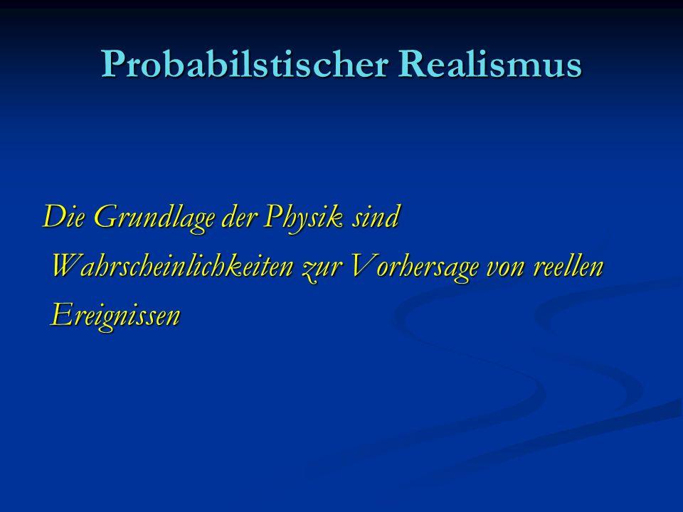 Probabilstischer Realismus