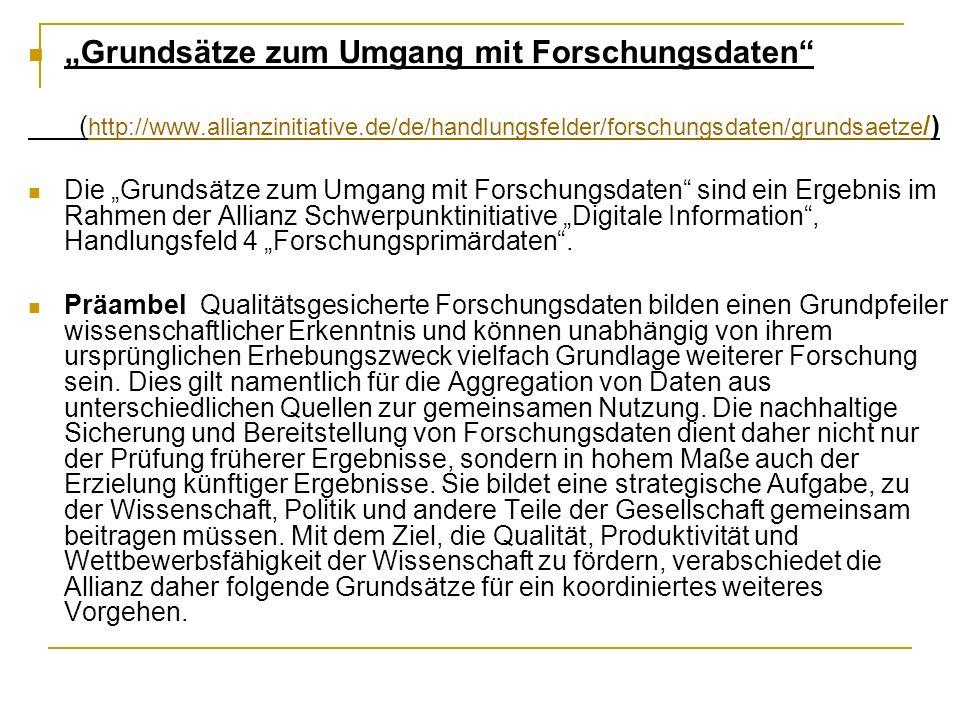 Allianz-Schwerpunktinitiative