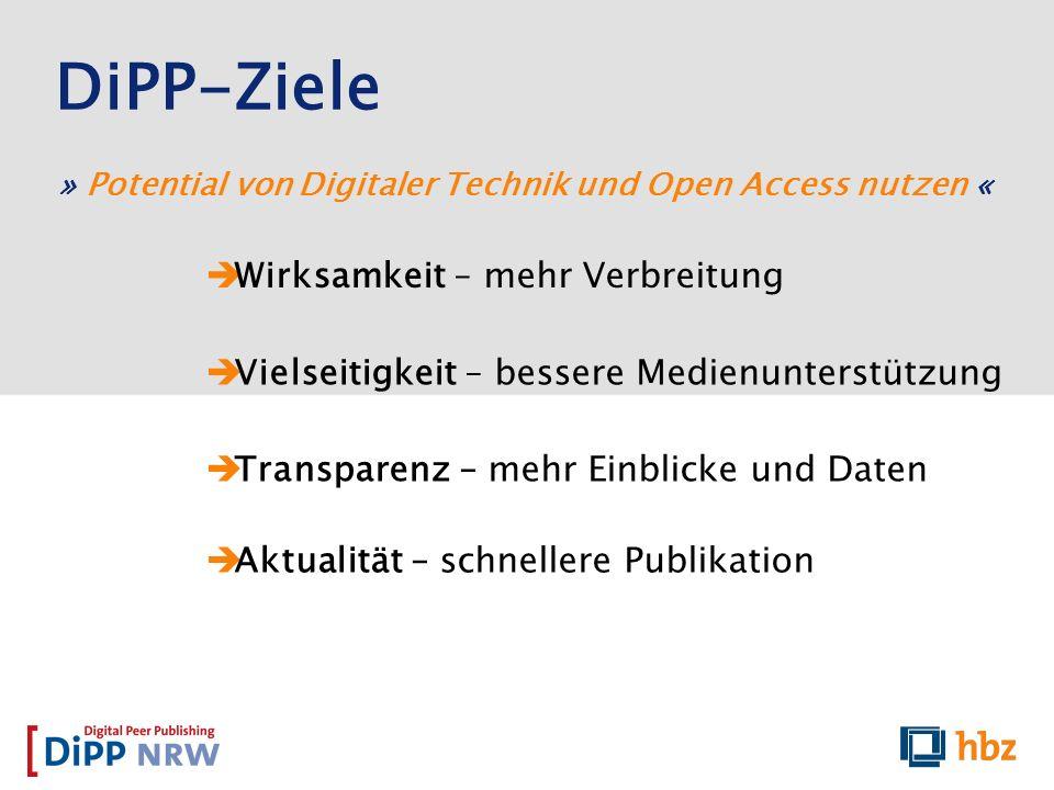 » Potential von Digitaler Technik und Open Access nutzen «