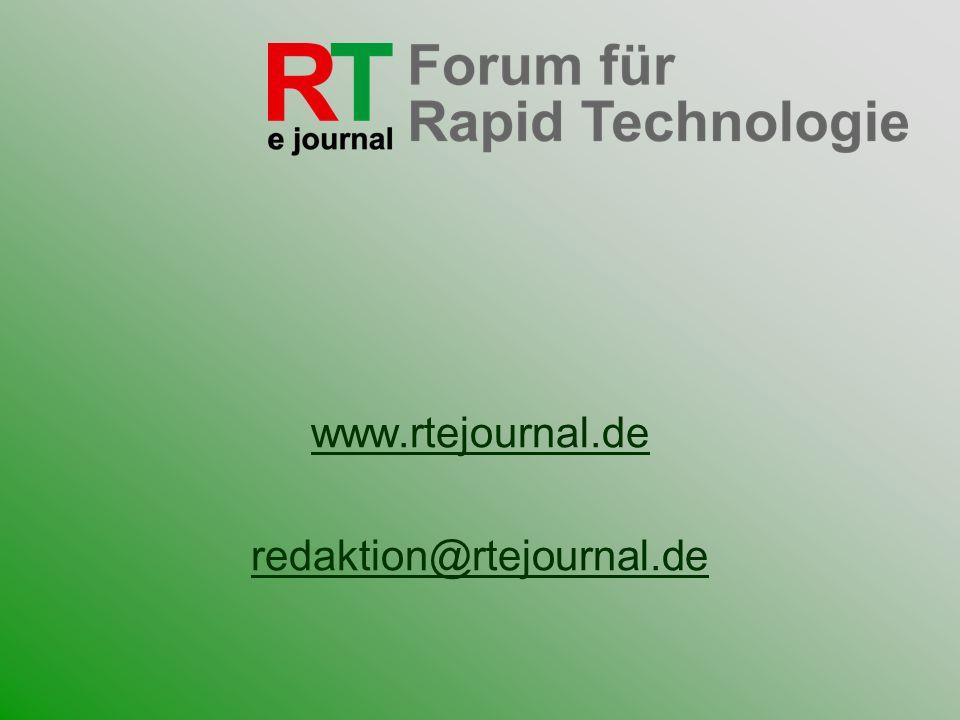 www.rtejournal.de redaktion@rtejournal.de