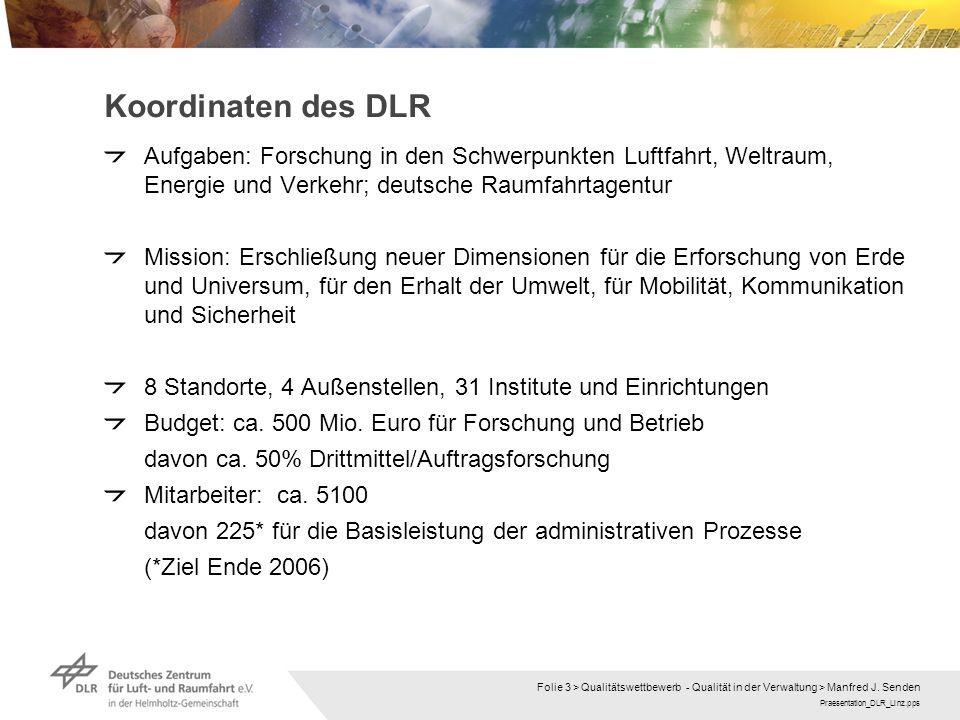Koordinaten des DLR Aufgaben: Forschung in den Schwerpunkten Luftfahrt, Weltraum, Energie und Verkehr; deutsche Raumfahrtagentur.