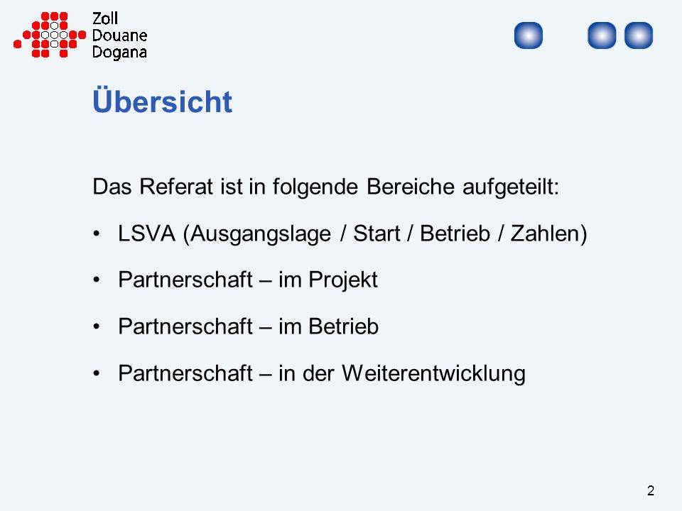 Übersicht Das Referat ist in folgende Bereiche aufgeteilt:
