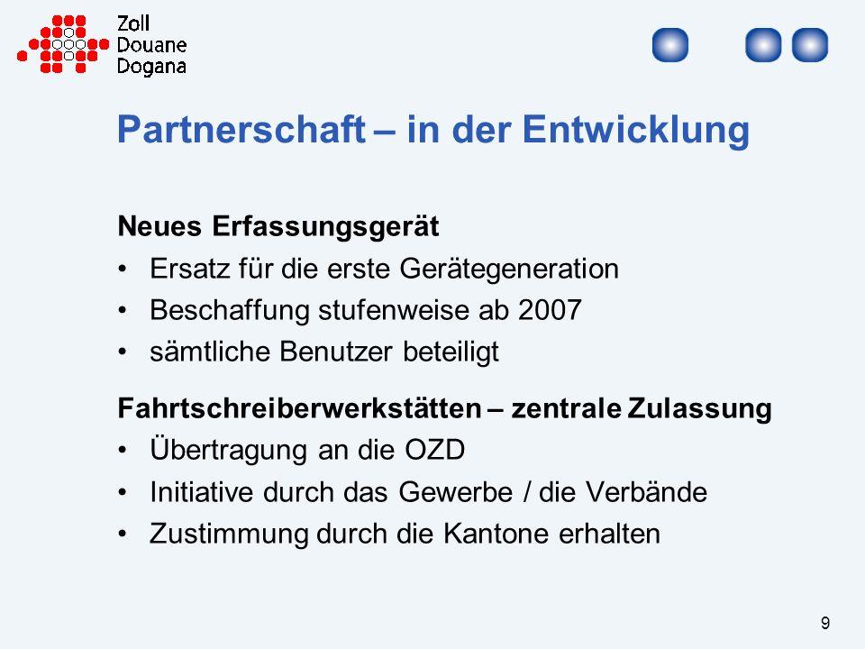 Partnerschaft – in der Entwicklung