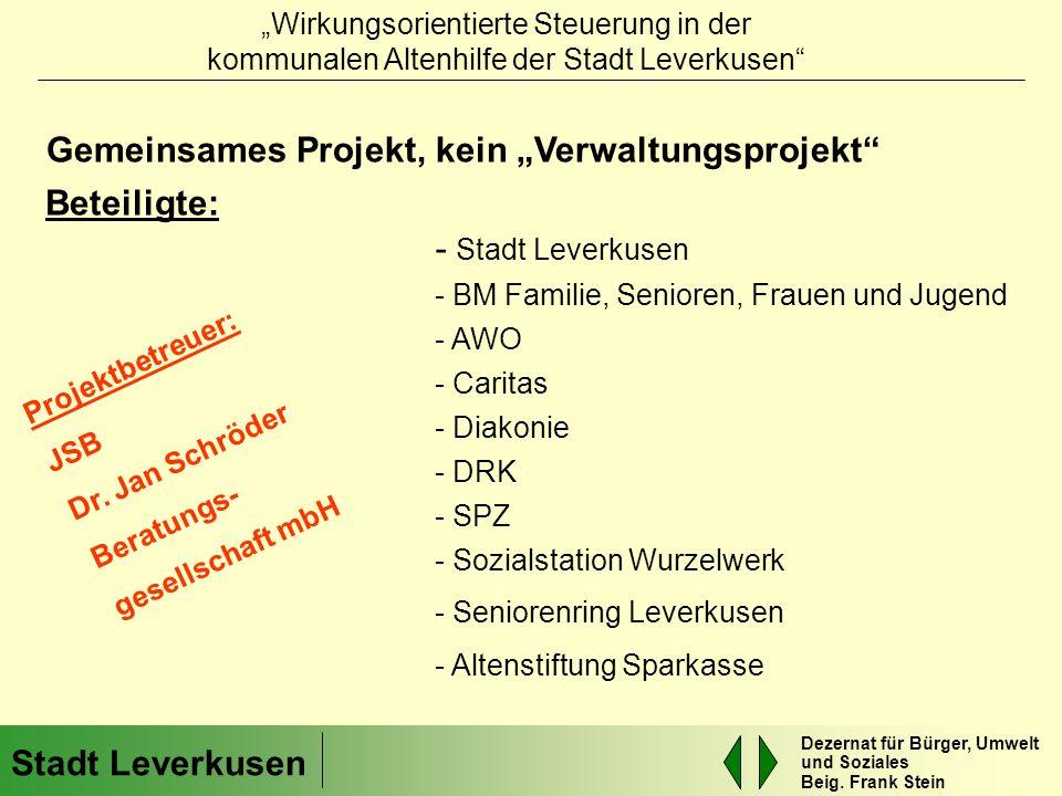 """Gemeinsames Projekt, kein """"Verwaltungsprojekt"""