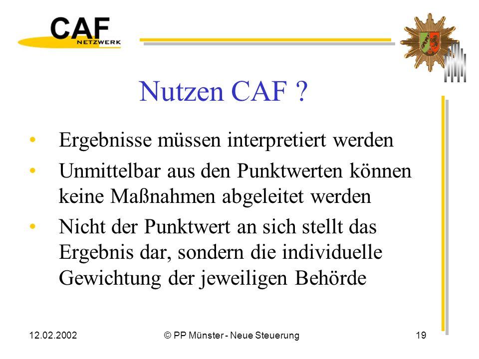 © PP Münster - Neue Steuerung