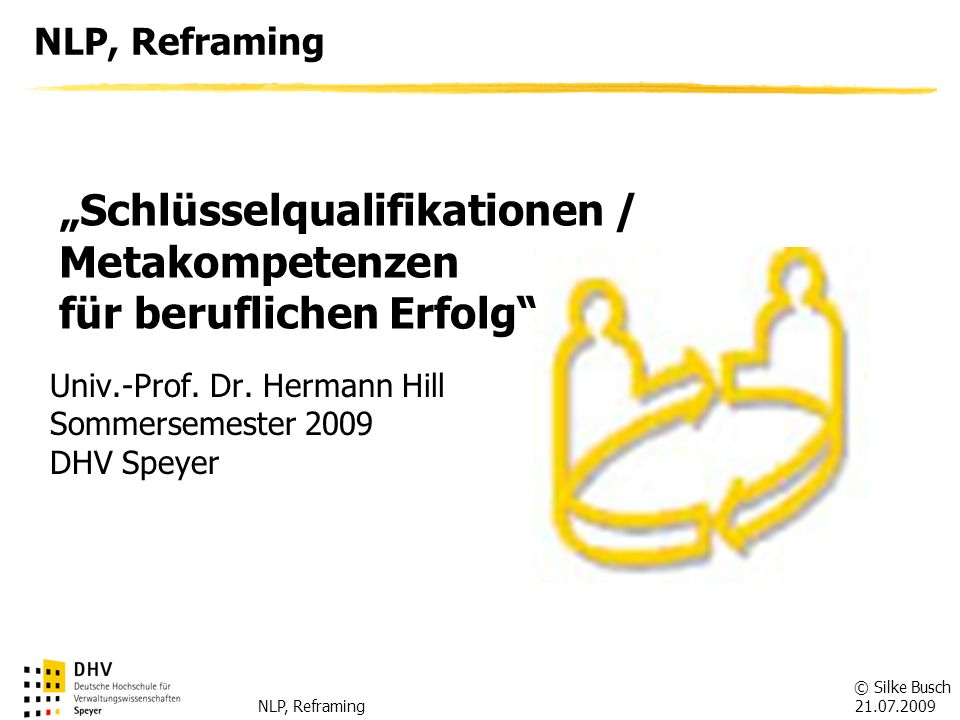 """""""Schlüsselqualifikationen / Metakompetenzen für beruflichen Erfolg"""
