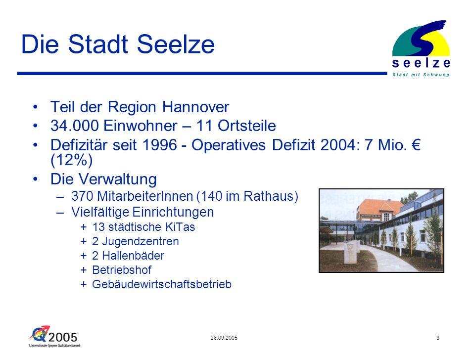 Die Stadt Seelze Teil der Region Hannover