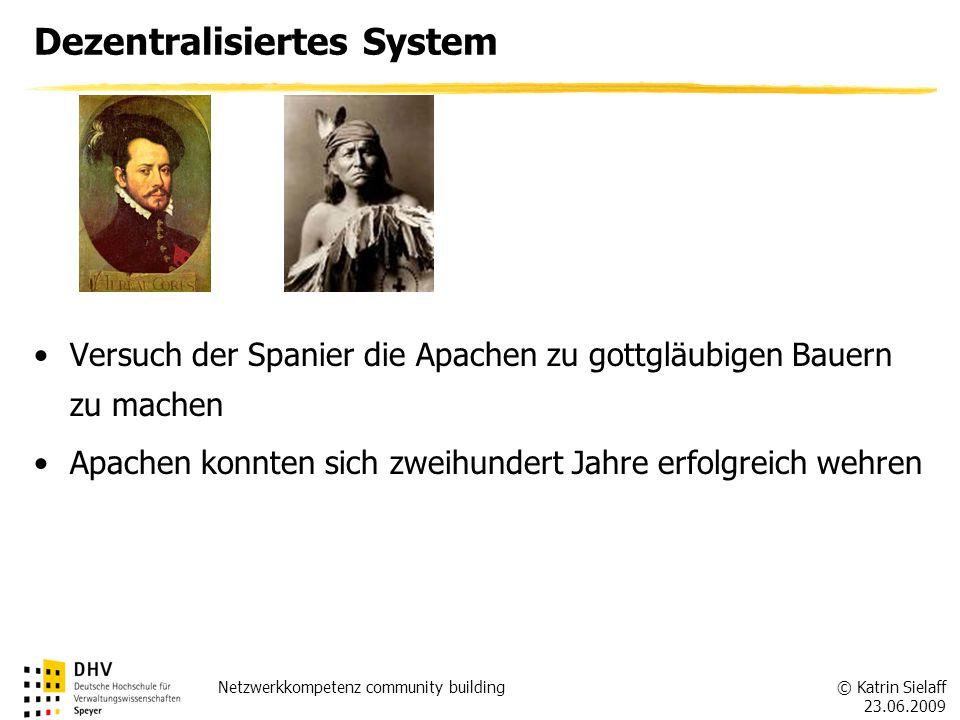 Dezentralisiertes System