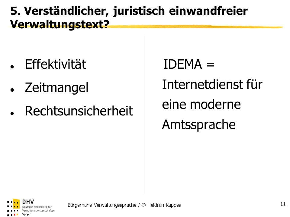 IDEMA = Internetdienst für eine moderne Amtssprache