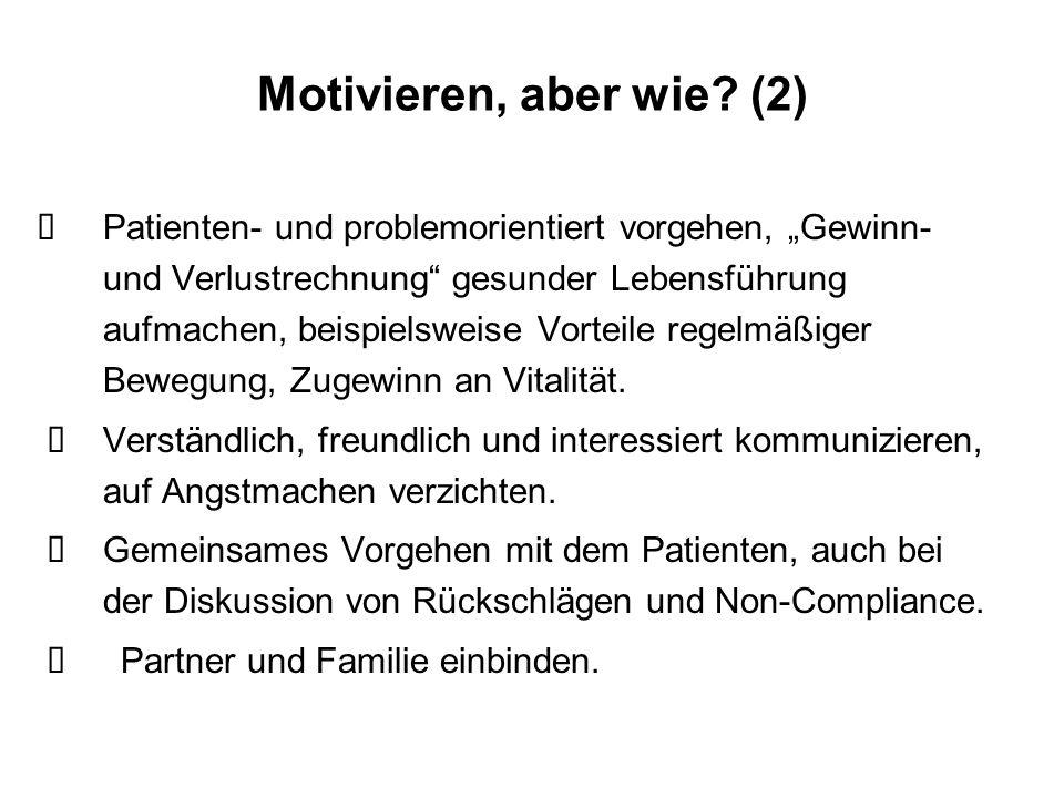 Motivieren, aber wie (2)