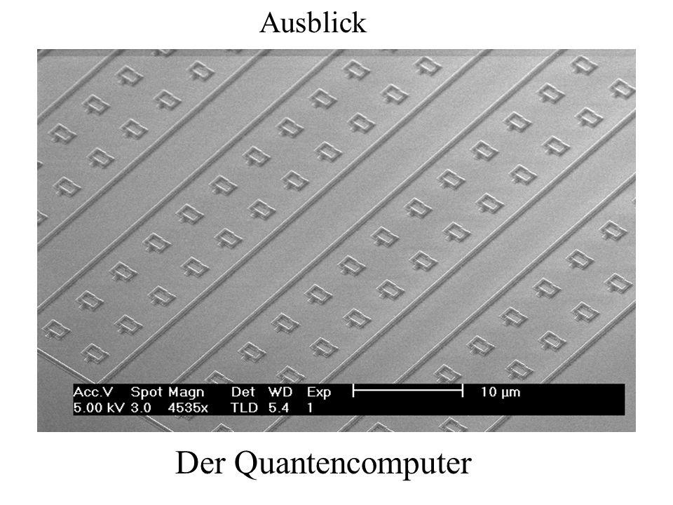 Der Quantencomputer Ausblick