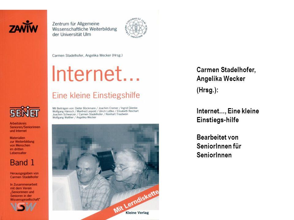 Carmen Stadelhofer, Angelika Wecker (Hrsg.):