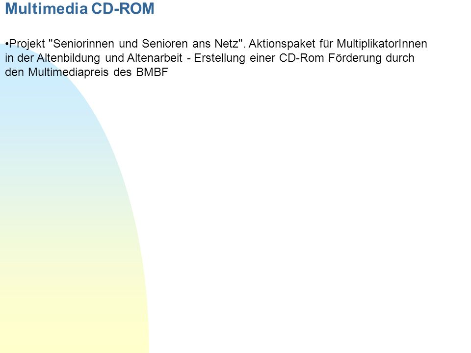 Multimedia CD-ROM