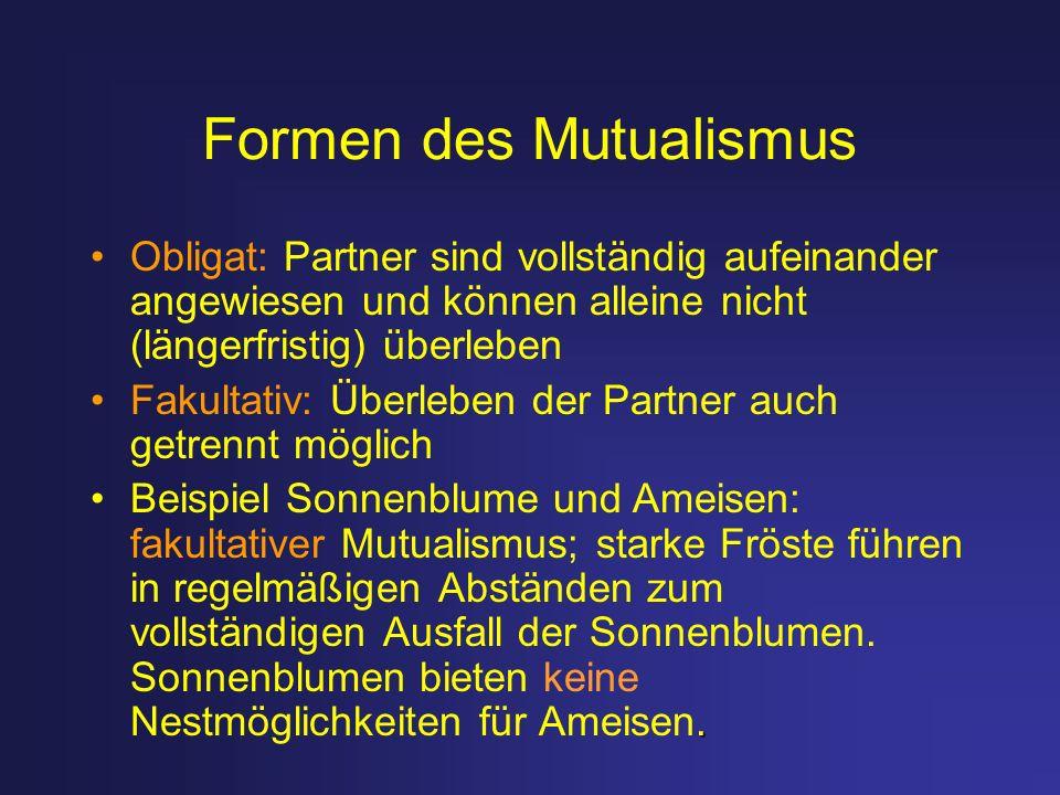 Formen des Mutualismus