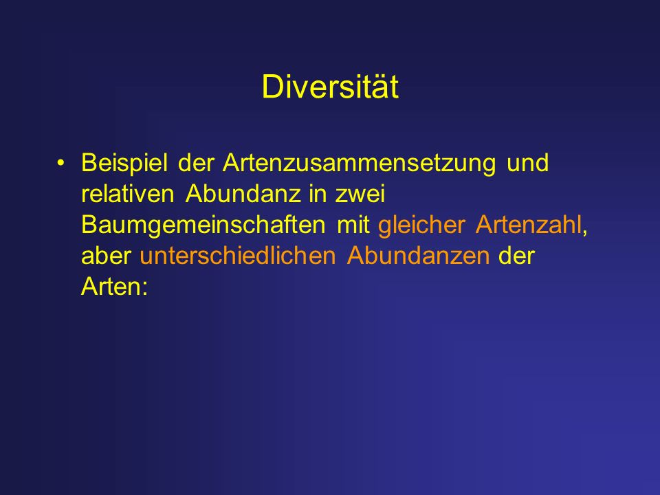 Diversität
