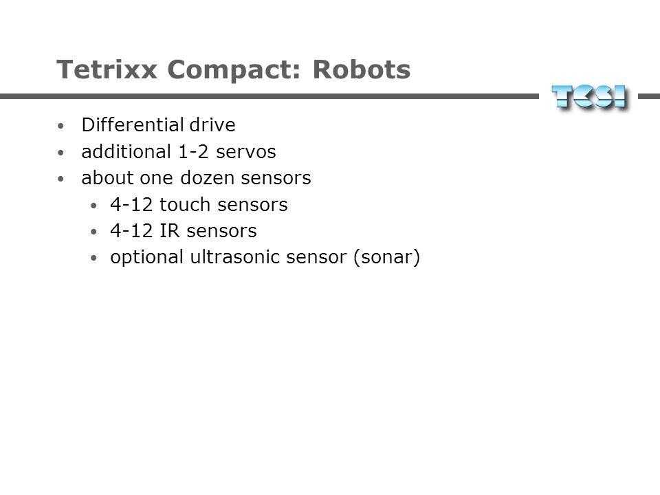Tetrixx Compact: Robots