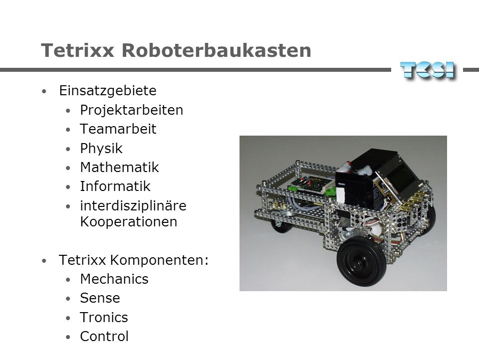 Tetrixx Roboterbaukasten
