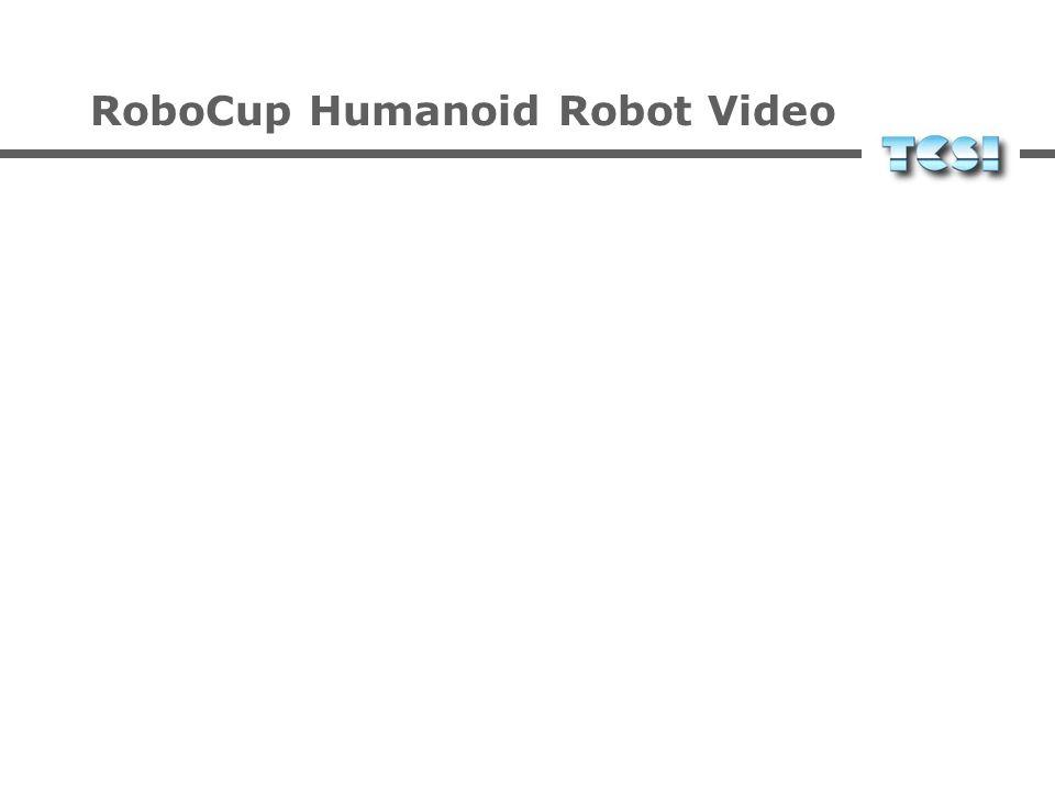 RoboCup Humanoid Robot Video