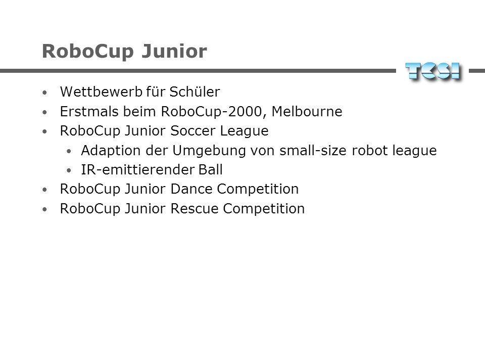 RoboCup Junior Wettbewerb für Schüler
