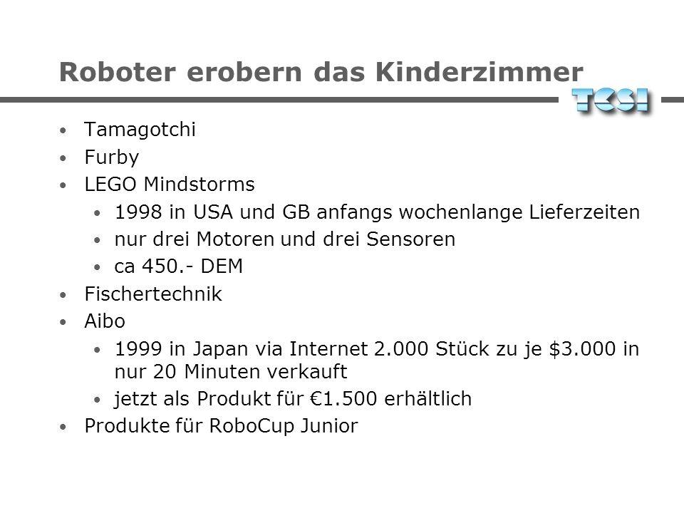 Roboter erobern das Kinderzimmer