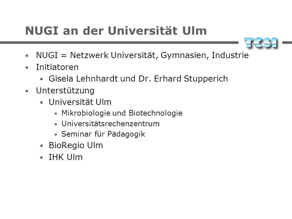 NUGI an der Universität Ulm
