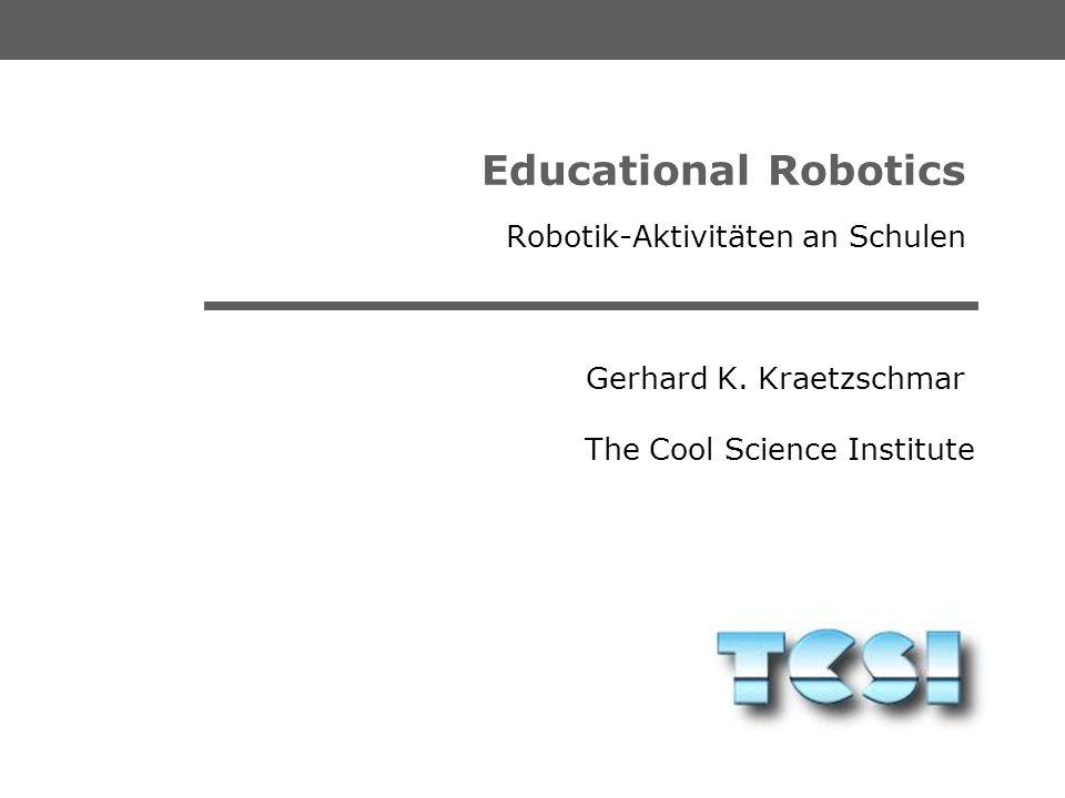 Robotik-Aktivitäten an Schulen