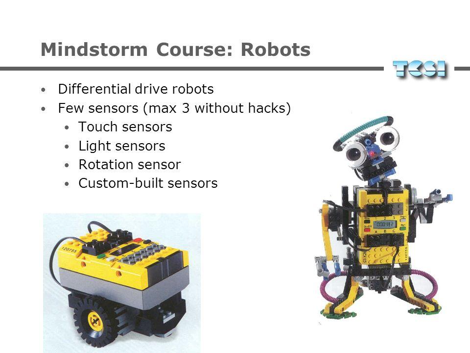 Mindstorm Course: Robots