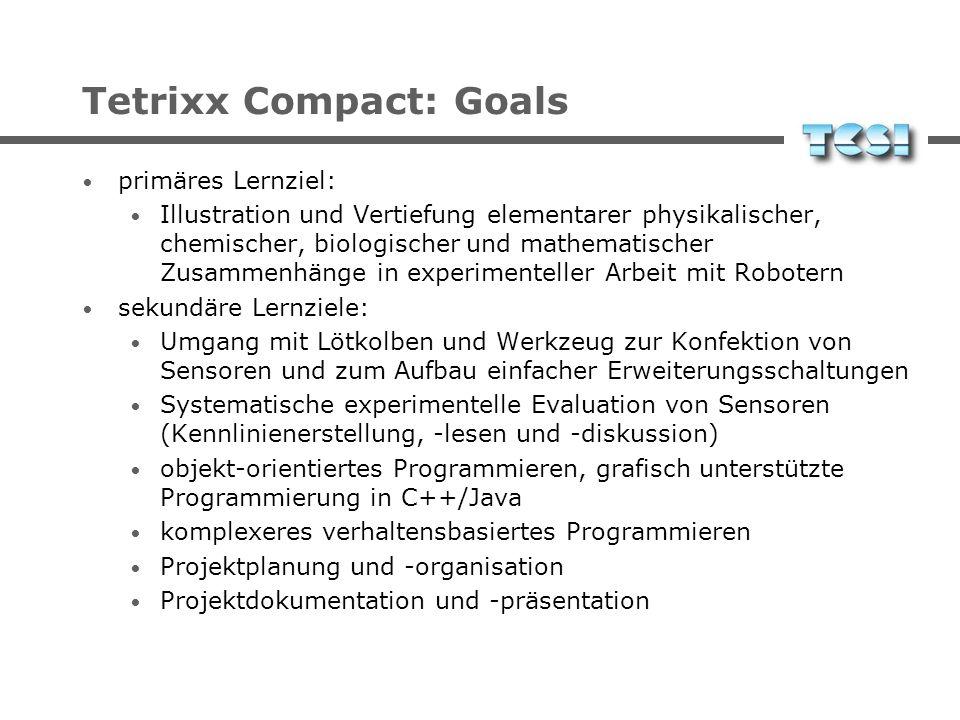 Tetrixx Compact: Goals